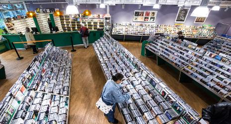andrä der CD Markt in Duisburg