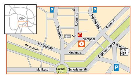 andrä der CD Markt in Münster